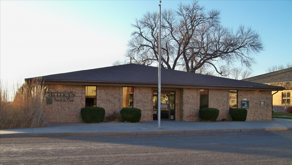 Brewster Bank building exterior view.